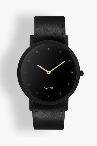 Shop emerging avant-garde accessory brand South Lane Avant Pure Watch Black - Erebus