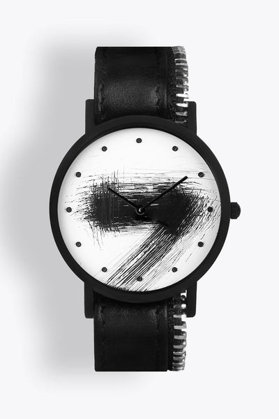 Shop emerging avant-garde accessory brand South Lane Avant Silent Black Zip - Erebus