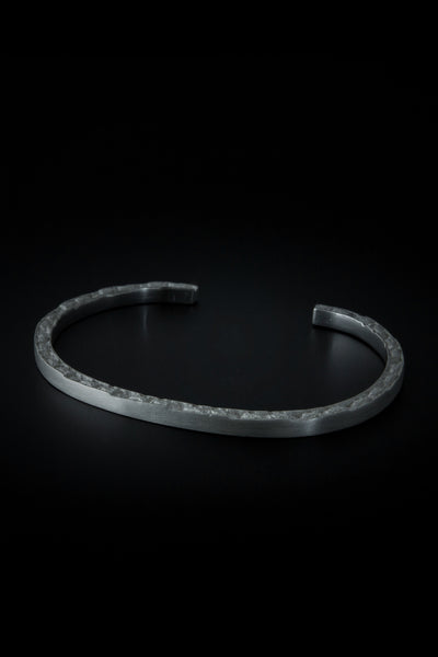 Shop emerging slow fashion unisex jewellery brand Møsaïs Silver Broken Bracelet S - Erebus