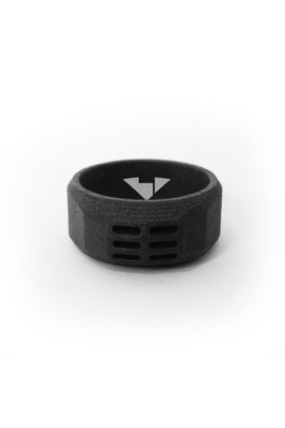 Shop Emerging Men's Jewellery Brand Bazelet Black Balder RAW Ring at Erebus