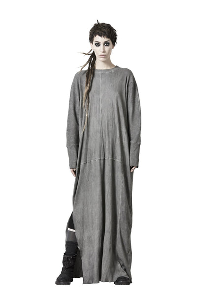 Shop Sustainable Luxury Avant-garde Designer Barbara I Gongini Cold Dyed Oversized Dress at Erebus