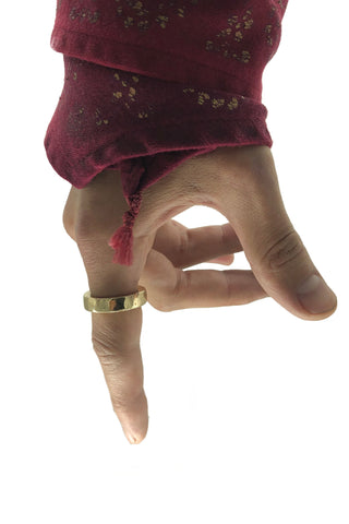 Shop Emerging Avant-garde Jewellery Brand Relics by Geo Bronze Base I Ring at Erebus