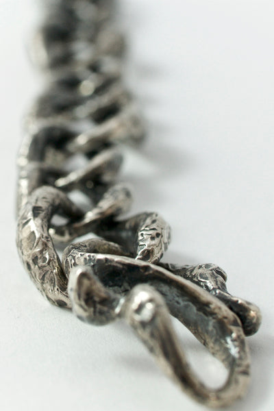 Shop Emerging Conscious Avant-garde Brand Black Rock Jewel The Chain Bracelet at Erebus