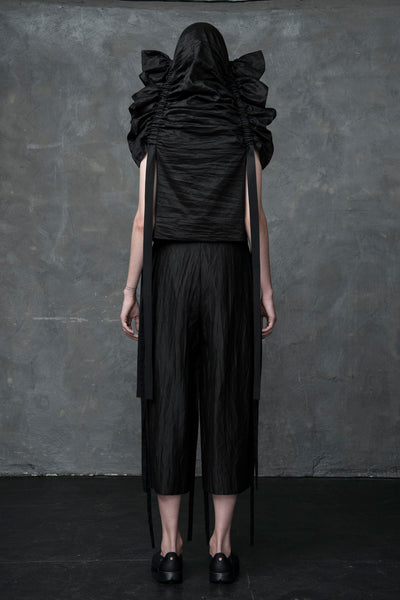 Shop Emerging Conscious Conceptual Womenswear Brand DZHUS Trilobite Transformable Top at Erebus