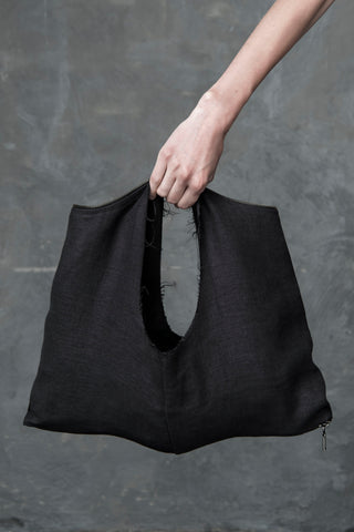 Shop Emerging Conscious Conceptual Womenswear Brand DZHUS Six in One Lituite Transformable Top and Bag Set at Erebus
