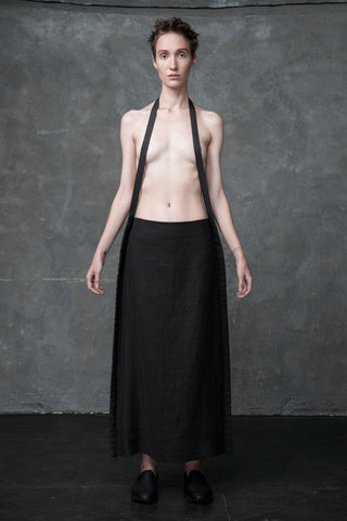 Shop Emerging Conscious Conceptual Womenswear Brand DZHUS Charnia Transformable Skirt at Erebus