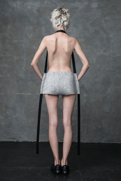 Shop Emerging Conscious Conceptual Womenswear Brand DZHUS Aeger Transformable Shorts at Erebus