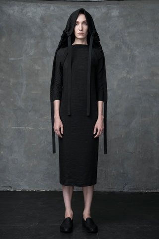 Shop Emerging Conscious Conceptual Womenswear Fashion Brand DZHUS Eurypterid Transformable Dress at Erebus