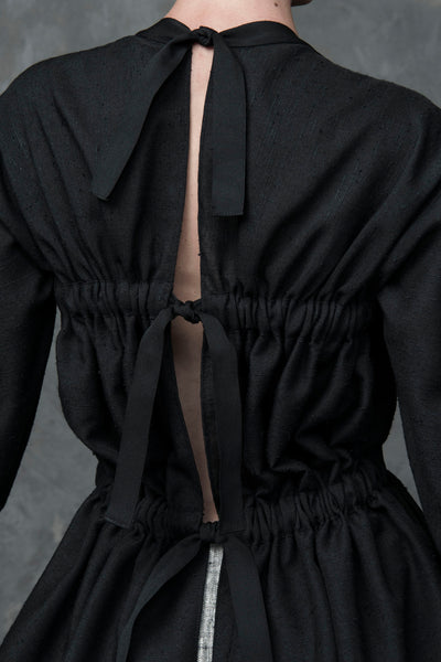 Shop Emerging Conscious Conceptual Womenswear Brand DZHUS Bitumen Top at Erebus