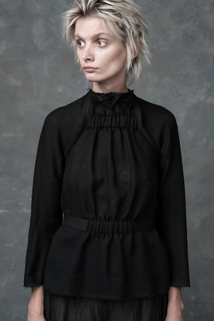 Shop Emerging Conscious Conceptual Womenswear Brand DZHUS Protopone Top at Erebus