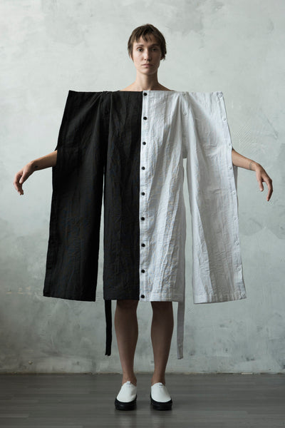 Shop Emerging Conceptual Dark Fashion Womenswear Brand DZHUS Algorithm Collection 10 Way Algorithm Transformable Set at Erebus