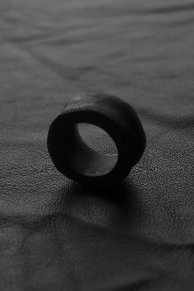 Shop Emerging Slow Fashion Avant-garde Brand Surface/Cast Erosion Ring at Erebus