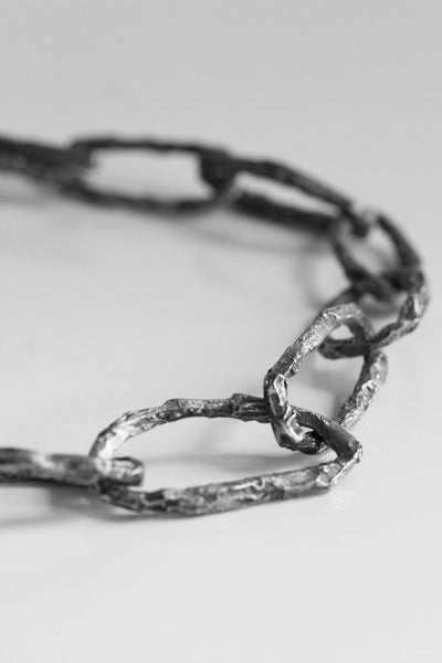 Shop Emerging Avant-garde Jewellery Brand OSS HL Chain Bracelet or Necklace at Erebus