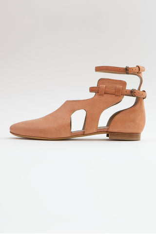 Shop Emerging Slow Fashion Shoe Designer Rana Cheikha Desert Leather Alma Ankle Boots at Erebus