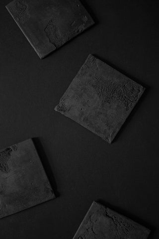 Shop Emerging Slow Fashion Brands Atelier Kesa x Surface/Cast Terrain Coasters at Erebus