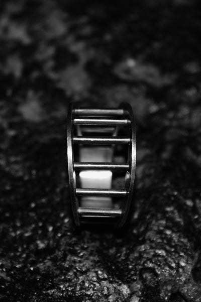 Shop Emerging Slow Fashion Avant-garde Jewellery Designer David Gaboriau Line Ring at Erebus