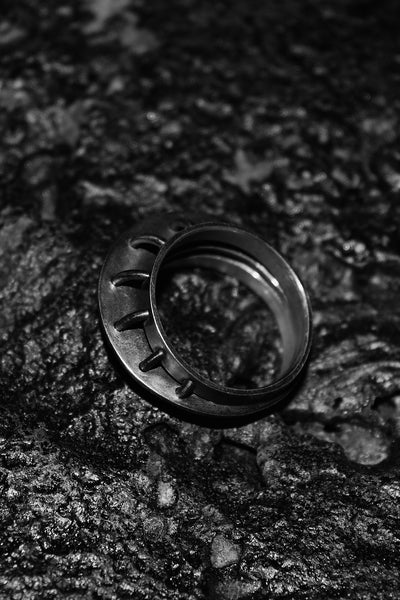 Shop Emerging Slow Fashion Avant-garde Jewellery Designer David Gaboriau Link Ring at Erebus