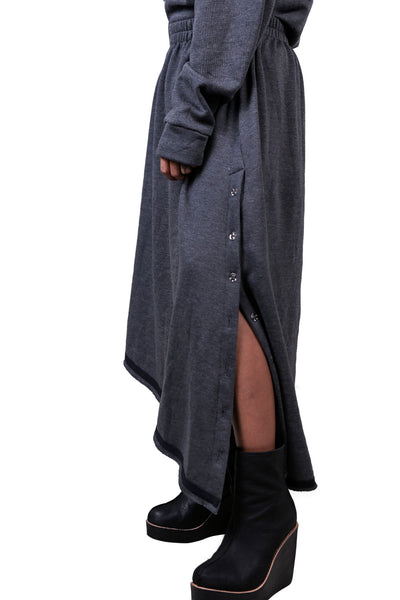 Shop Emerging Slow Fashion Genderless Avant-garde Designer Mark Baigent Zieh Skirt at Erebus