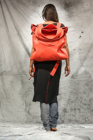 Shop Emerging Slow Fashion Conscious Conceptual Brand Things I Miss Paprika Piñatex Velik Kolo Bag at Erebus