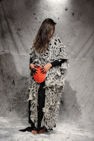 Shop Emerging Slow Fashion Conscious Conceptual Brand Things I Miss Paprika Pinatex Mala Okrogla Bag at Erebus
