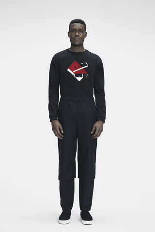 Shop Emerging Ethical Slow Fashion Men's Streetwear Brand MLTV Bauhaus Sweater at Erebus