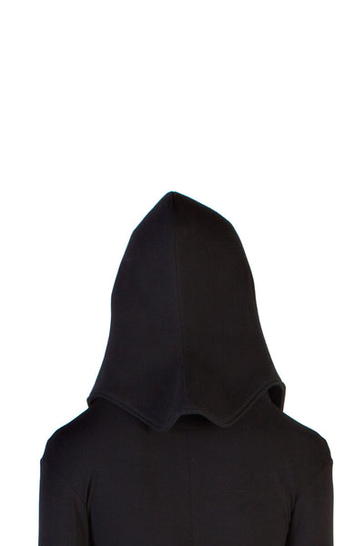 Shop Emerging Unisex Street Brand Monochrome Black Protector Hat at Erebus