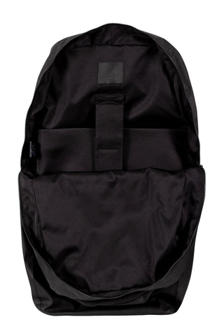 Shop Emerging Unisex Street Brand Monochrome Black Round Backpack at Erebus
