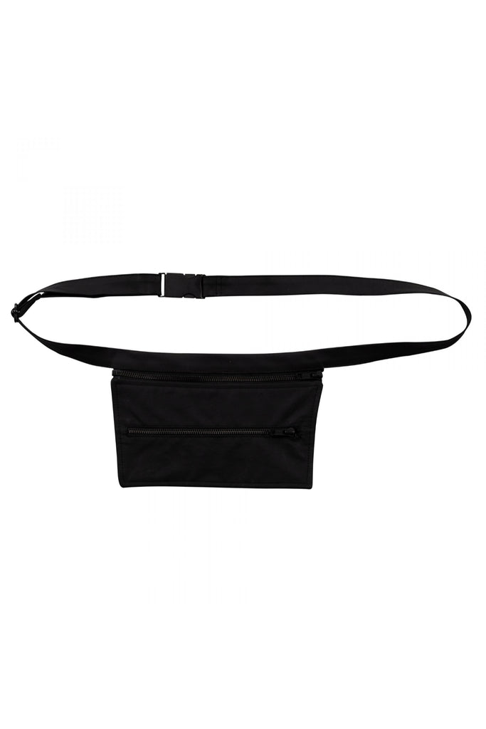 Shop Emerging Unisex Street Brand Monochrome Black Trapeze Phone Bag at Erebus