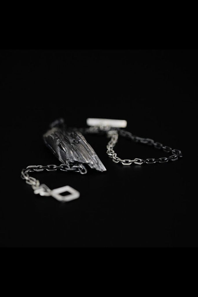 Shop Emerging Slow Fashion Avant-garde Jewellery Brand Mosais Silver Nucifera Bracelet at Erebus