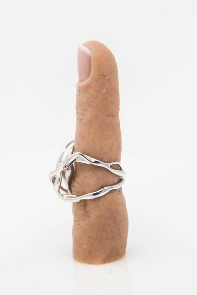 Shop Emerging Conceptual Jewellery Brand v_master Muut Phase 3 Ring at Erebus