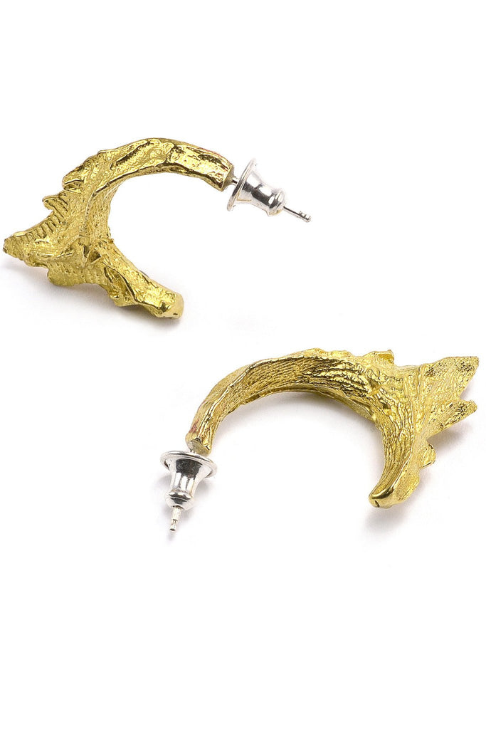 Shop emerging slow fashion jewellery brand Eilisain Ondine Earrings in Bronze - Erebus