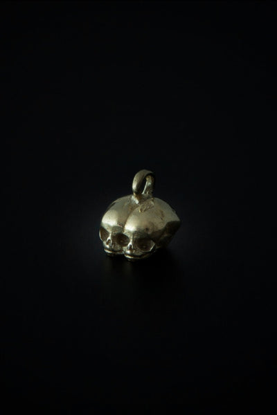 Shop emerging slow fashion unisex jewellery brand Møsaïs Gold Siamese Pendant - Erebus
