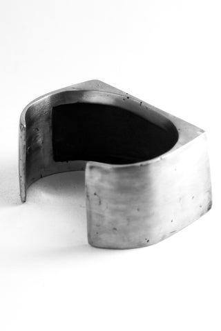 Shop Emerging Slow Fashion Avant-garde Jewellery Brand OSS Haus Awakening Collection Silver Principe Bracelet at Erebus