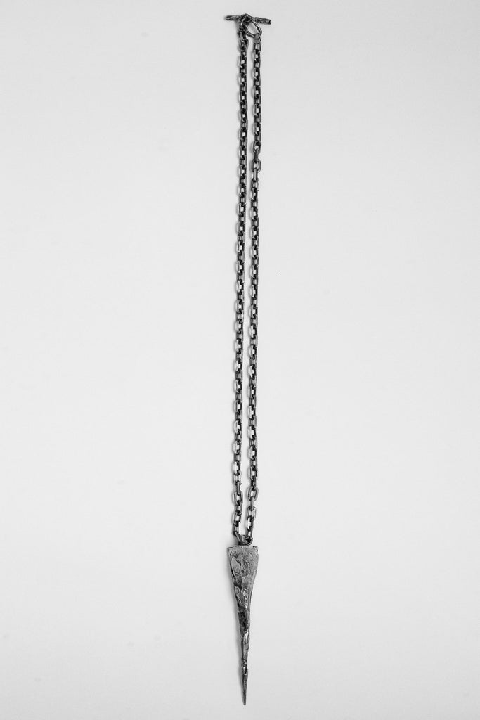 Shop Emerging Avant-garde Jewellery Brand OSS Pyramid Necklace at Erebus