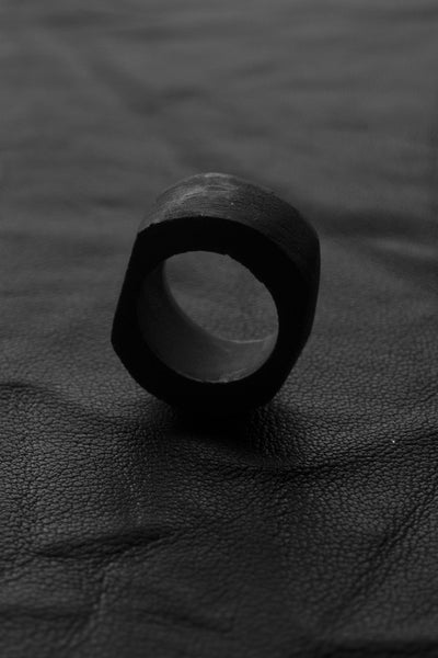 Shop Emerging Slow Fashion Avant-garde Brand Surface/Cast Position Ring at Erebus
