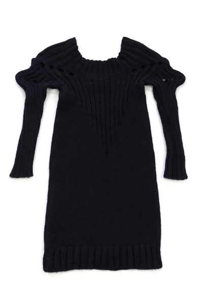 Shop Emerging Conscious Zero Waste Knit Designer Fintan Mulholland Scorpion Jumper at Erebus
