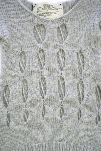 Shop Emerging Conscious Zero Waste Knit Designer Fintan Mulholland Sirius Burst Jumper at Erebus