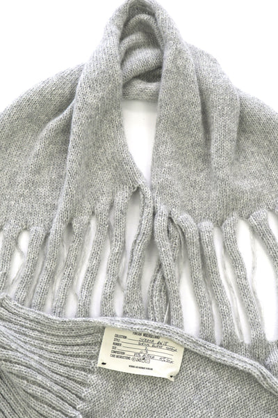 Shop Emerging Conscious Zero Waste Knit Designer Fintan Mulholland Sirius Burst Shawl at Erebus