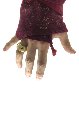 Shop Emerging Avant-garde Jewellery Brand Relics by Geo Bronze Skyphos Vase Ring at Erebus