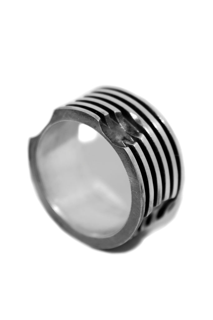 Shop Emerging Slow Fashion Avant-garde Jewellery Designer David Gaboriau Subtract Ring at Erebus