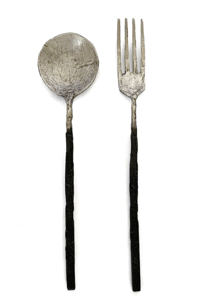 Shop Emerging Slow Fashion Avant-garde Jewellery Brand OSS Haus Silver Cannibal Table Spoon at Erebus