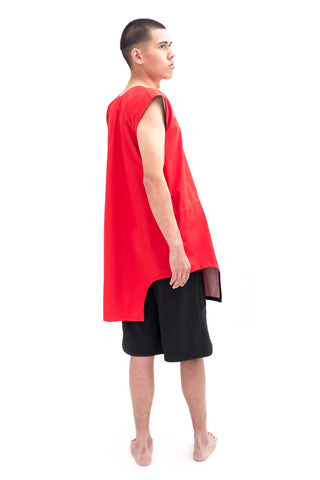 Shop Emerging Slow Fashion Futuristic Unisex Brand Fuenf Technic Tunic at Erebus