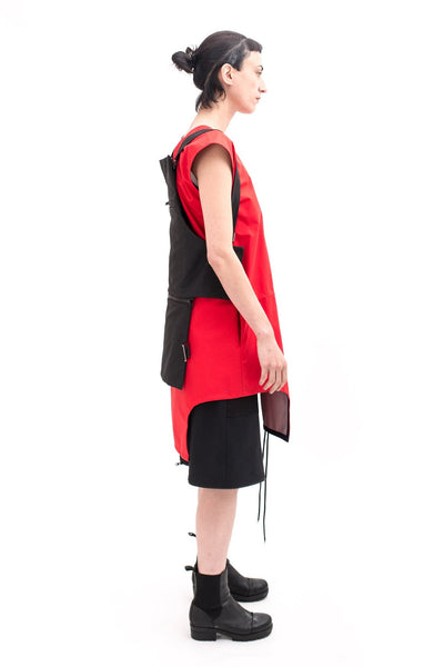 Shop Emerging Slow Fashion Futuristic Unisex Brand Fuenf Transform Bag at Erebus