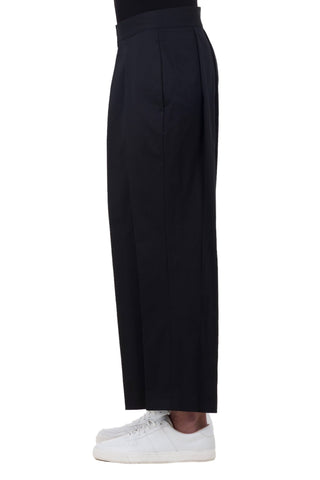 Shop emerging unisex brand Monochrome Hakama Trousers Black - Erebus - 2