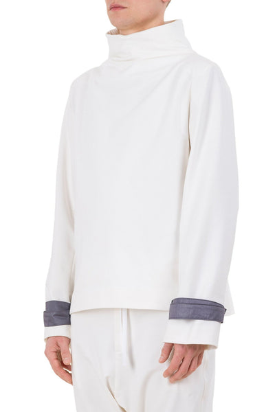 Shop emerging unisex brand Monochrome Harness Sweatshirt Off-White - Erebus - 1