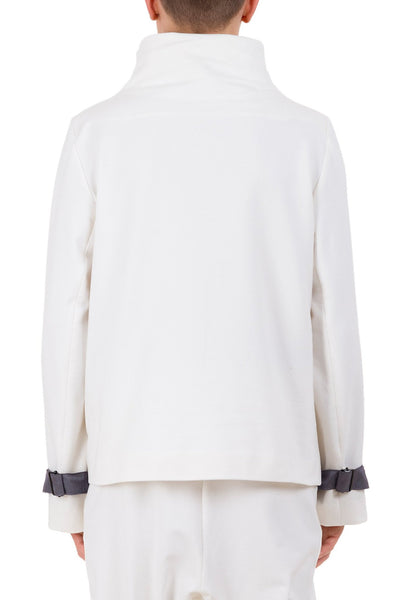 Shop emerging unisex brand Monochrome Harness Sweatshirt Off-White - Erebus - 3