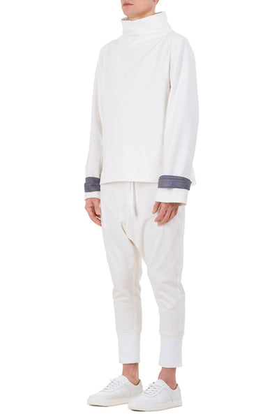 Shop emerging unisex brand Monochrome Harness Sweatshirt Off-White - Erebus - 4