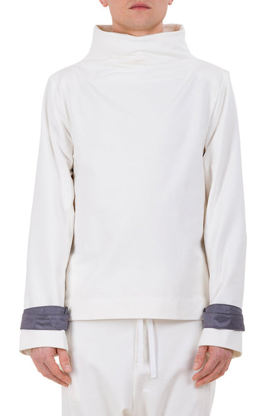 Shop emerging unisex brand Monochrome Harness Sweatshirt Off-White - Erebus - 5