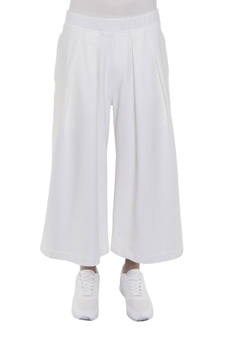 Shop Emerging Brand Monochrome Off-White Hakama Pants at Erebus