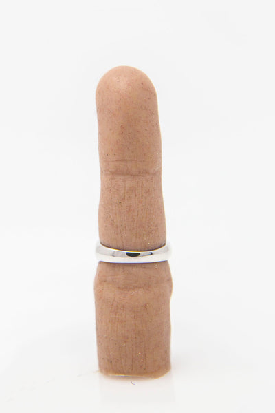 Shop Emerging Conceptual Jewellery Brand v_master Silver TRNCTD2 Ring at Erebus